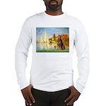 Regatta / Red Doberman Long Sleeve T-Shirt
