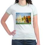 Regatta / Red Doberman Jr. Ringer T-Shirt