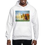 Regatta / Red Doberman Hooded Sweatshirt