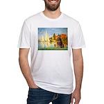 Regatta / Red Doberman Fitted T-Shirt