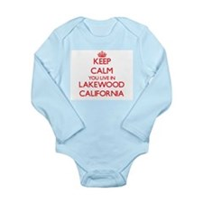 Keep calm you live in Lakewood Californi Body Suit