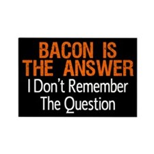 Cute I love bacon Rectangle Magnet (100 pack)