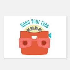 Open Your Eyes Postcards (Package of 8)
