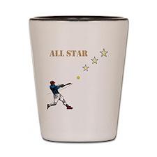 All Star Shot Glass