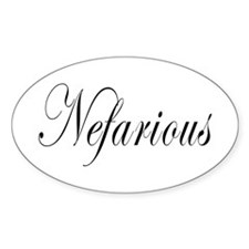 Nefarious Decal