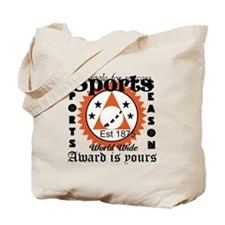 Sports Quotes T-Shirt Design Tote Bag