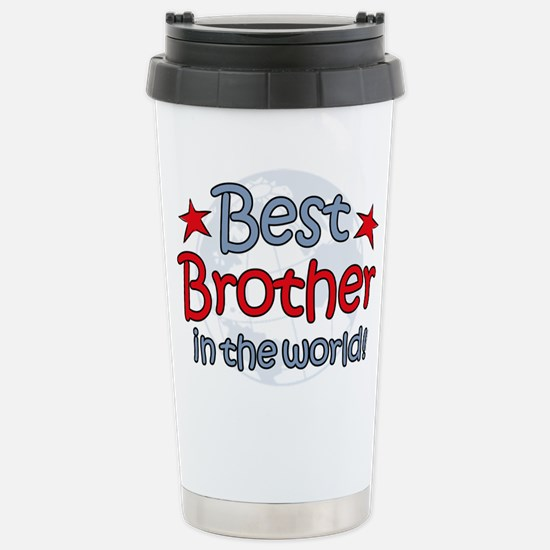 Best Brother Globe Stainless Steel Travel Mug