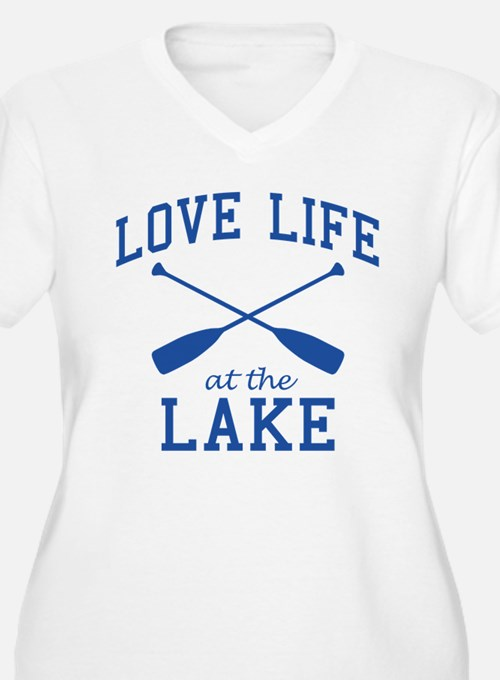 Love Life at the Lake Plus Size T-Shirt