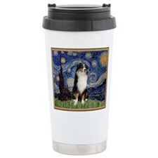 Cute Black is not a color Travel Mug