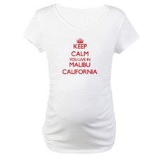 Keep calm you live in Malibu Cal Shirt