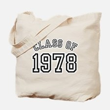 Class of 1978 Tote Bag