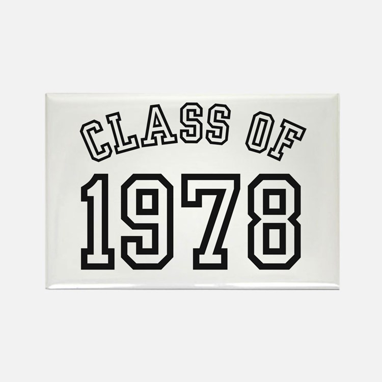 Class of 1978 Rectangle Magnet