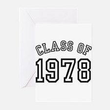 Class of 1978 Greeting Cards (Pk of 10)