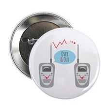 "Over & Out 2.25"" Button (100 pack)"