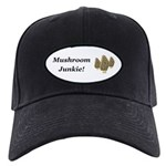 Mushroom Junkie Black Cap