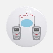 Walkie Talkies Ornament (Round)