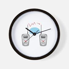 Walkie Talkies Wall Clock