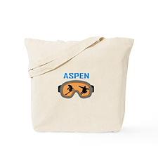 SKI ASPEN Tote Bag