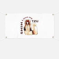 LOVE MY SHIH TZU Banner