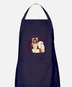 LOVE MY SHIH TZU Apron (dark)