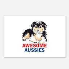 AWESOME AUSIIES Postcards (Package of 8)