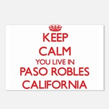 Keep calm you live in Pas Postcards (Package of 8)