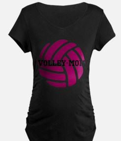 Volley-Mom Maternity T-Shirt