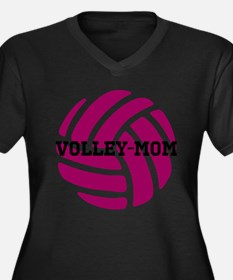 Volley-Mom Plus Size T-Shirt
