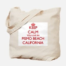 Keep calm you live in Pismo Beach Califor Tote Bag