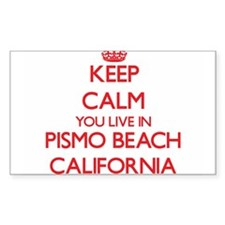 Keep calm you live in Pismo Beach Californ Decal