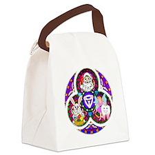 Santa - Trinity of Lies Canvas Lunch Bag