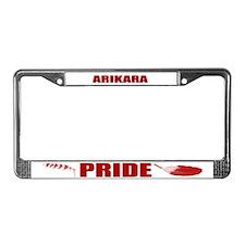 Arikara Pride License Plate Frame