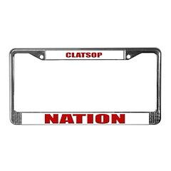 Clatsop Nation License Plate Frame