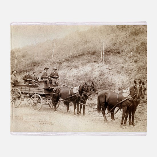 Deadwood Treasure Wagon and Guards - John Grabill