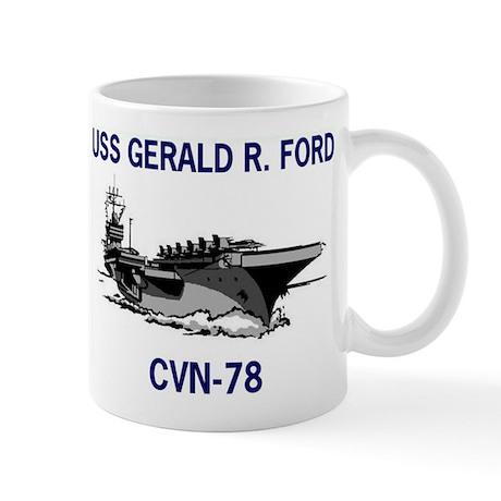 USS GERALD R. FORD Mug