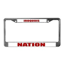 Iroquois Nation License Plate Frame