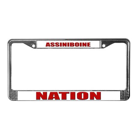 Assiniboine Nation License Plate Frame