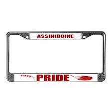 Assiniboine Pride License Plate Frame