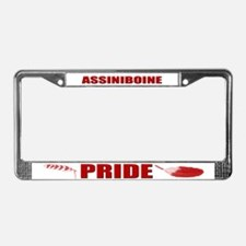 Assiniboine Pride License Plate Frame