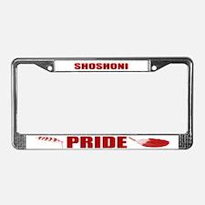 Shoshoni Pride License Plate Frame