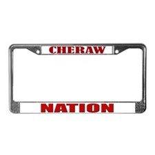 Cheraw Nation License Plate Frame