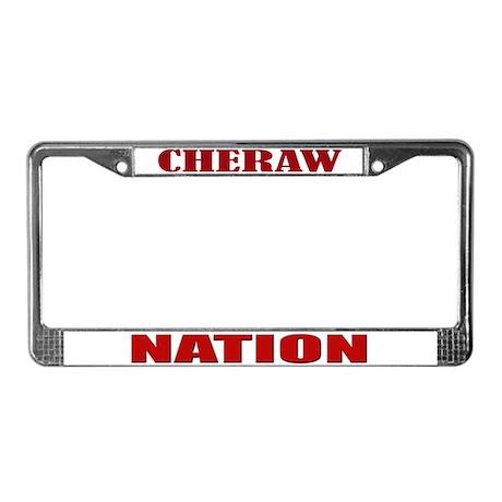 Cheraw Nation License Plate Frame