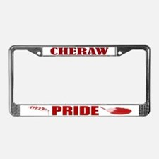 Cheraw Pride License Plate Frame