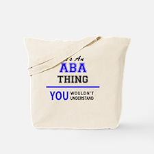 Cute Aba Tote Bag
