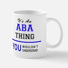 Funny Aba Mug