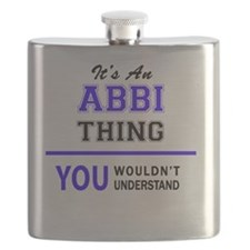 Unique Abby Flask