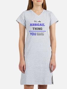 Funny Abbigail Women's Nightshirt