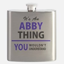 Funny Abby Flask