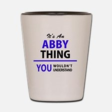 Funny Abby Shot Glass