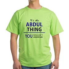 Unique Abdul T-Shirt
